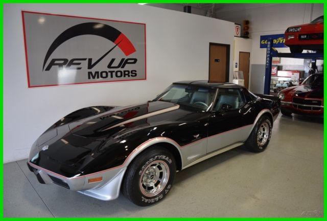 1978 chevrolet corvette indy 500 pace car 3k mile survivor for Motor mile auto sales