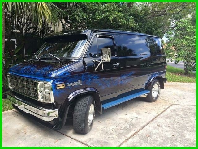 1978 chevrolet g20 shorty van automatic for sale. Black Bedroom Furniture Sets. Home Design Ideas