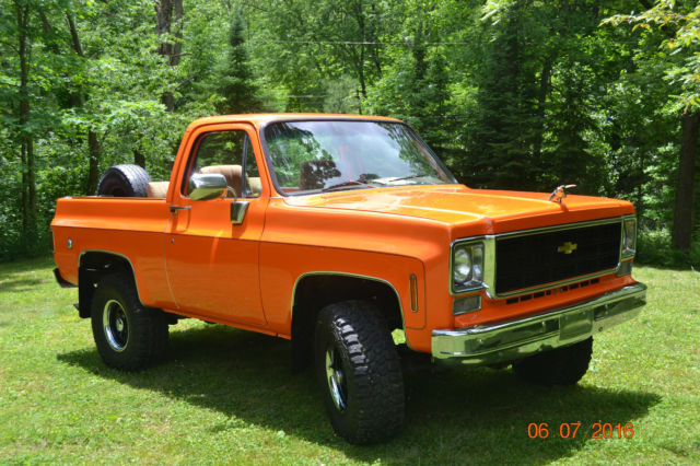 1978 Chevrolet K5 4X4 Blazer 350, Lifted, Two Tops! for sale