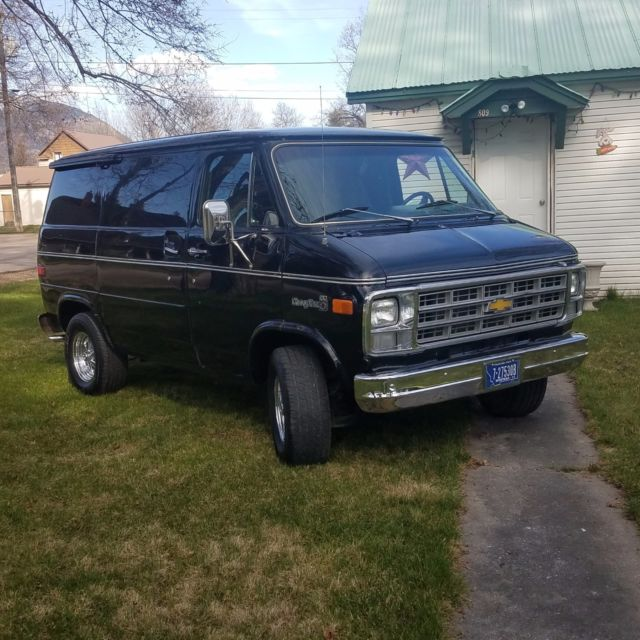 1978 chevy g20 van excellent condition for sale. Black Bedroom Furniture Sets. Home Design Ideas