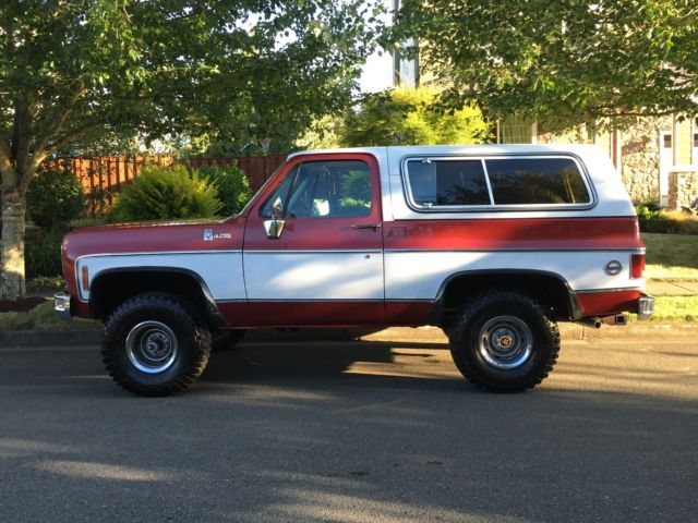 1978 chevy k5 blazer 4x4 2 door suv 350 v8 engine 39 2 39 owner like new must see for sale. Black Bedroom Furniture Sets. Home Design Ideas
