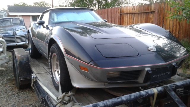 1978 corvette pace car 25th anniversary edition for sale chevrolet corvette 1978 for sale in. Black Bedroom Furniture Sets. Home Design Ideas