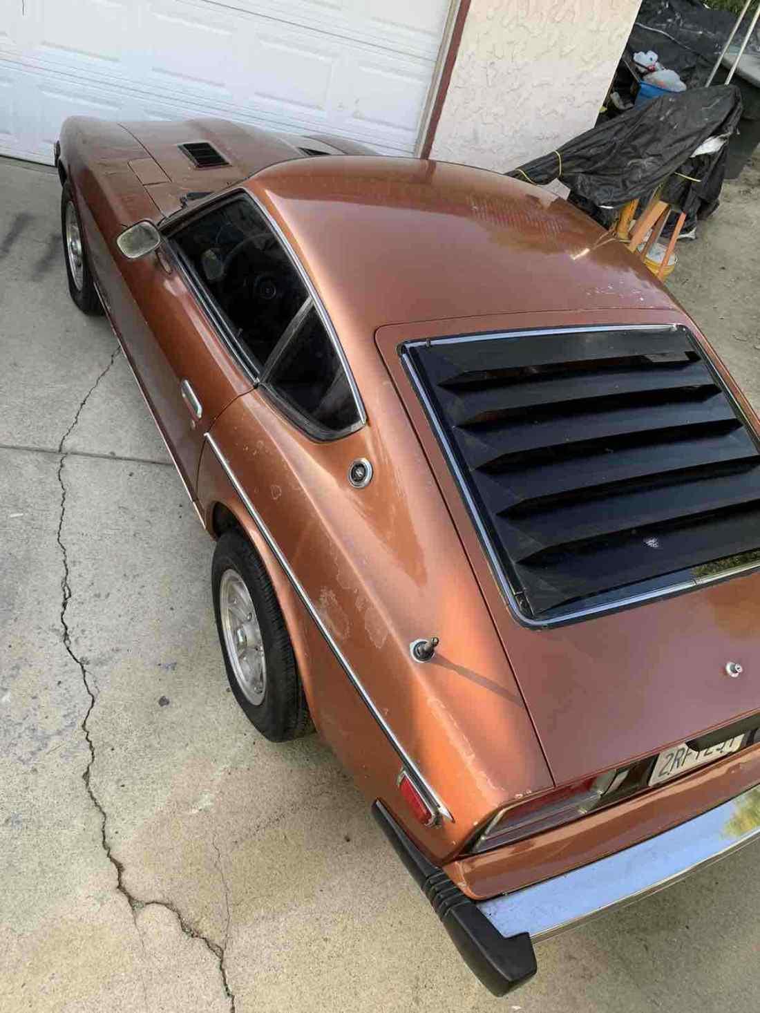 1978 Datsun 280z Sportscar Orange Rwd Manual Manual Guide