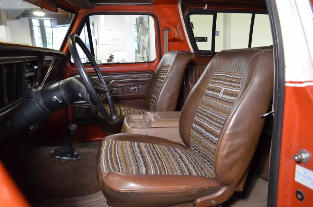 1978 Ford Bronco Ranger XLT 45086 Miles Orange SUV ...