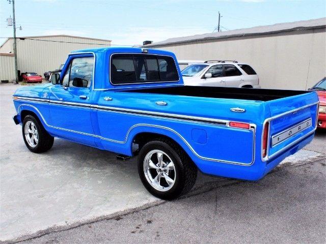 V8 Ford Ranger For Sale >> 1978 Ford F-100 Ranger XLT Custom 23,620 Miles Blue V8 Automatic for sale - Ford F-100 Ranger ...