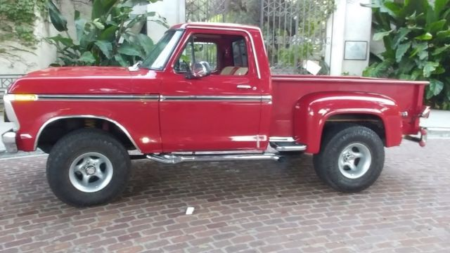 1978 Ford F150 Ranger 4x4 8cyl Auto Extraordinary Detailed Nice Truck For Sale Ford F 150 Ranger 4x4 1978 For Sale In Los Angeles California United States