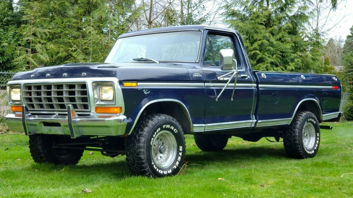 1978 Ford F150 Ranger Trailer Special 4x4 For Sale Ford F 150 1978 For Sale In Sedro Woolley Washington United States