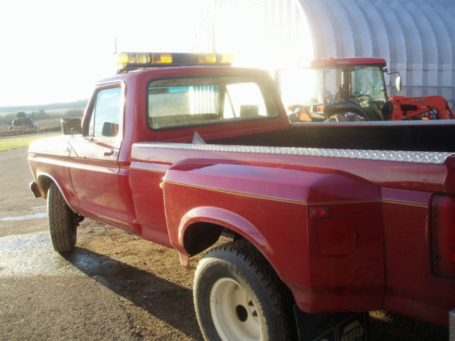 Ford 4600 Square Fender : Ford f highboy regular cab dually