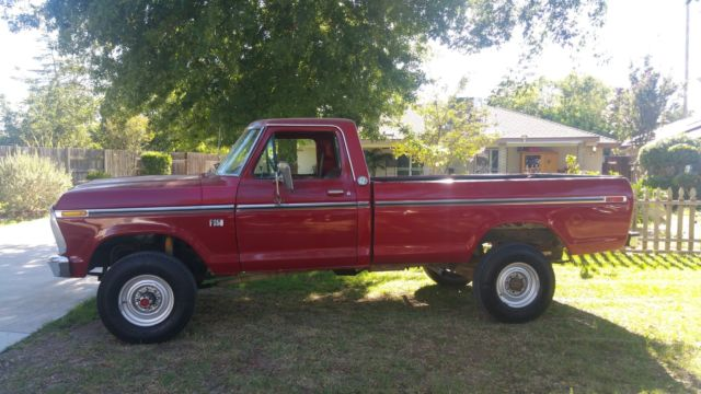 1978 ford f250 highboy 4x4 for sale ford f 250 highboy 1978 for sale in bakersfield. Black Bedroom Furniture Sets. Home Design Ideas
