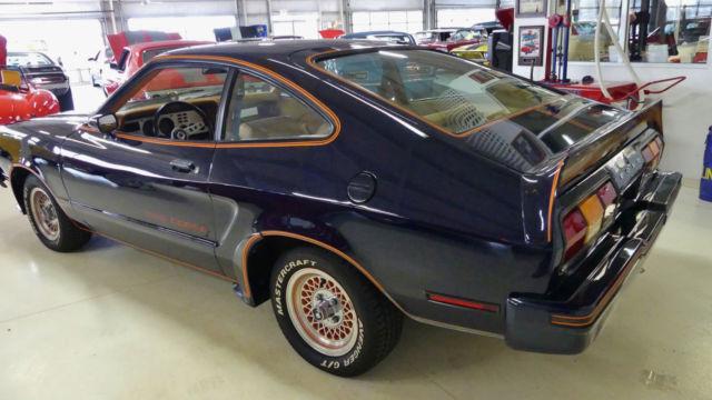 1978 Mustang King Cobra Blue