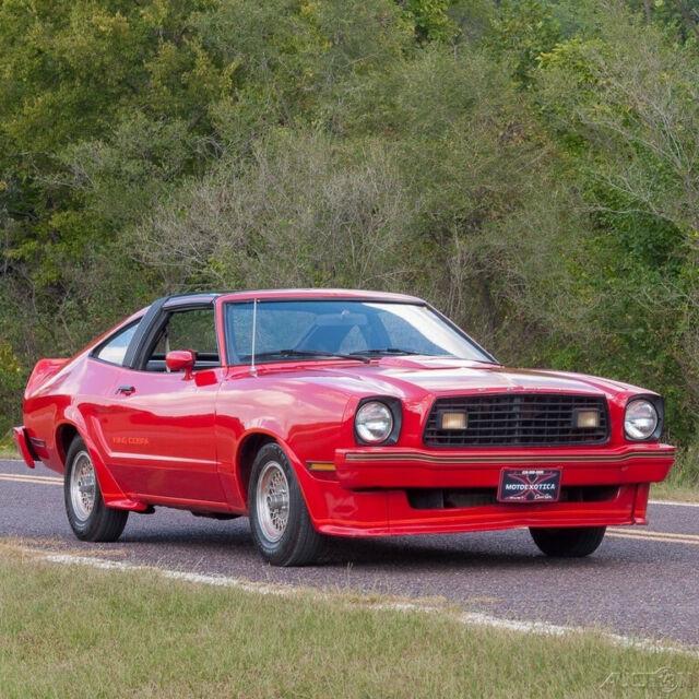 1978 Mustang Cobra For Sale