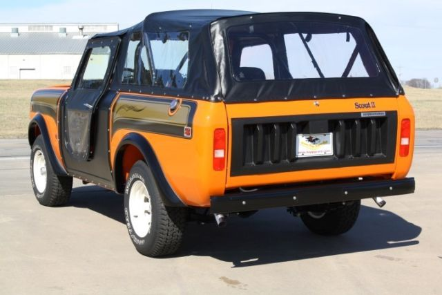 1978 International Scout Ssii For Sale International Harvester Scout Super Scout Ii 1978 For