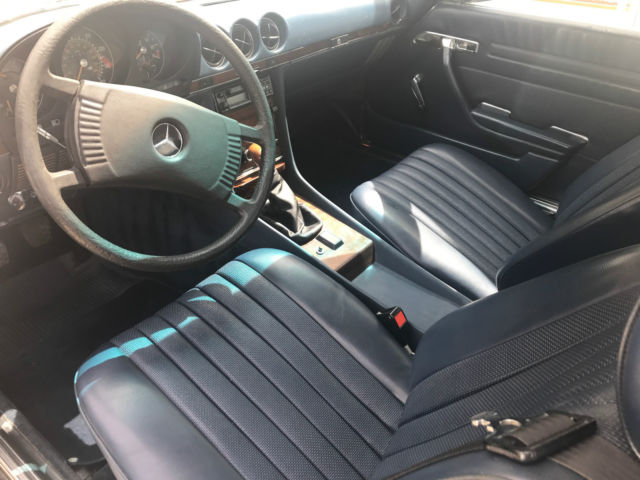 1978 mercedes 280sl european gray market with manual 4 for Mercedes benz manual transmission for sale