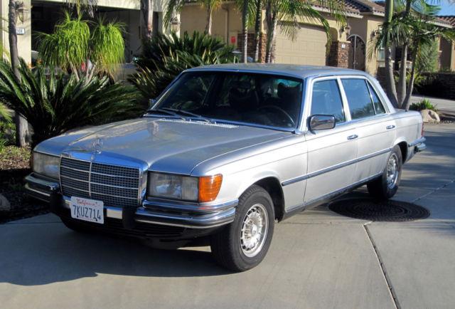 1978 mercedes benz 450sel 6 9 vin 116 036 12 003329 for Mercedes benz socal