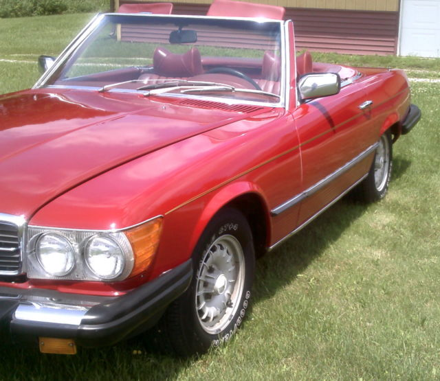 1978 mercedes benz 450sl convvert 75800 miles drv home for for 1978 mercedes benz 450sl