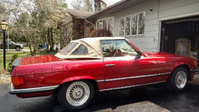1978 mercedes benz 450sl roadster covertible amg 2 seater for Mercedes benz two seater