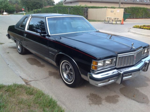 1978 pontiac bonneville brougham landau coupe rare 400 cid. Black Bedroom Furniture Sets. Home Design Ideas