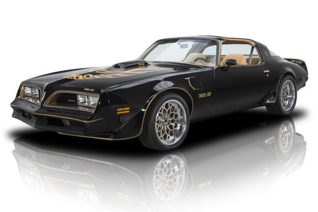 1978 Pontiac Firebird Trans Am 85898 Miles Starlight Black