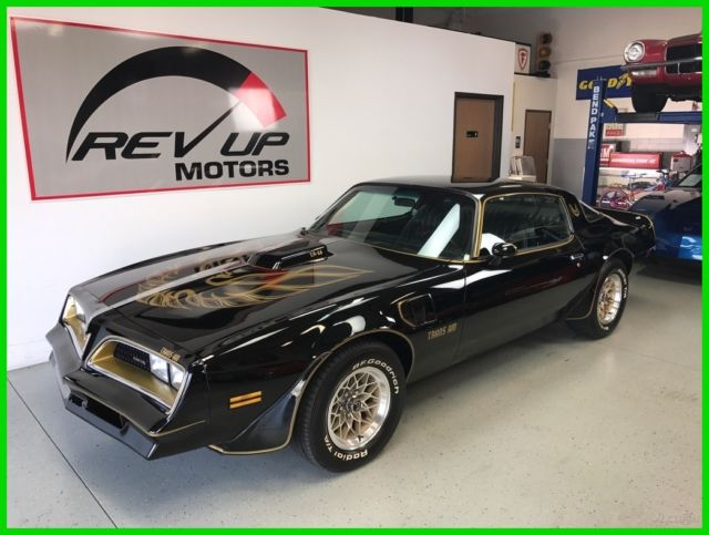 1978 pontiac firebird trans am y81 special edition smokey and the bandit clone for sale. Black Bedroom Furniture Sets. Home Design Ideas