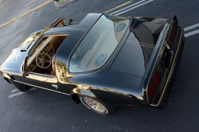 1978 Pontiac Firebird TransAm T Top Similar To Convertible