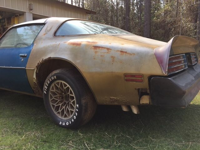 1978 Solar Gold Pontiac Trans Am Se Hurst Hatch T Tops For