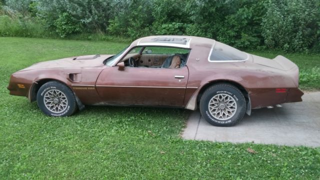 1978 trans am chesterfield brown for sale pontiac trans am 1978 for sale in council bluffs. Black Bedroom Furniture Sets. Home Design Ideas