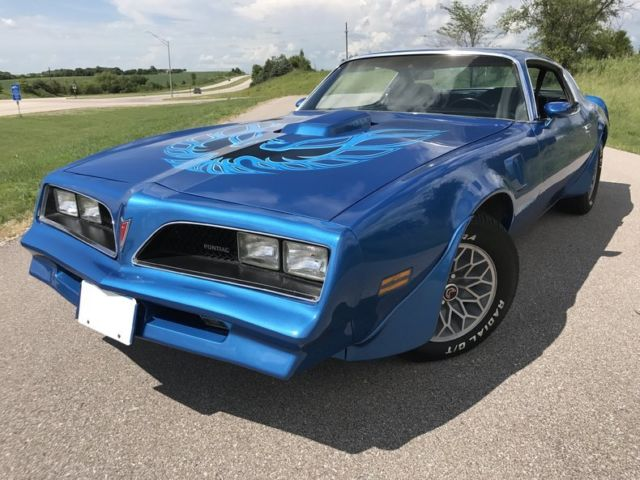 1978 trans am martinique blue 400 auto rust free for sale pontiac trans am 1978 for sale in. Black Bedroom Furniture Sets. Home Design Ideas