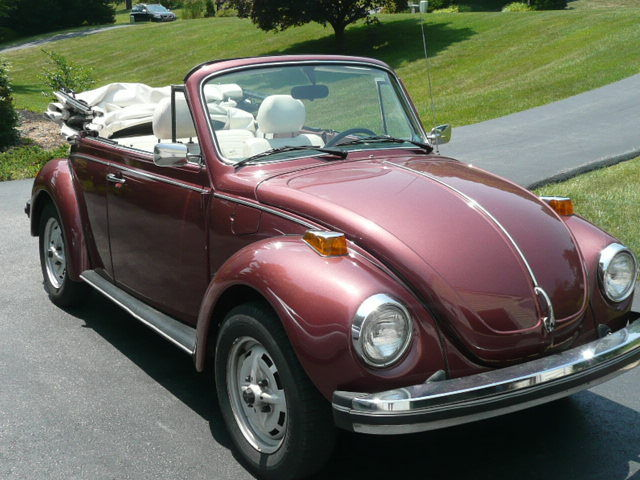 1978 vw super beetle convertable champagne edition for sale volkswagen beetle classic. Black Bedroom Furniture Sets. Home Design Ideas