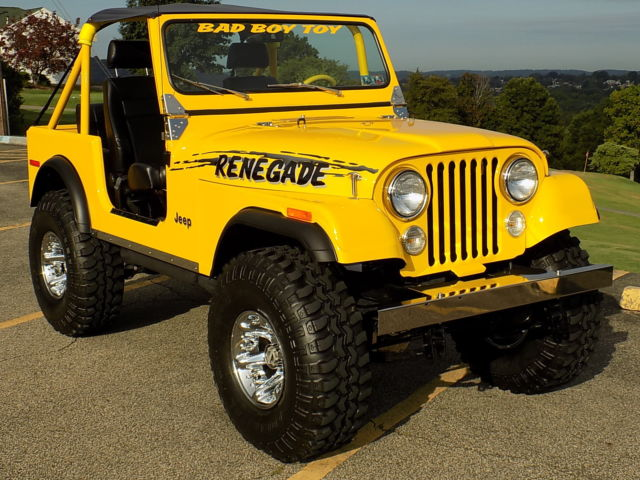 1978jeep cj7 4x4 for sale jeep wrangler renegade 1978 for sale in new kensington pennsylvania. Black Bedroom Furniture Sets. Home Design Ideas