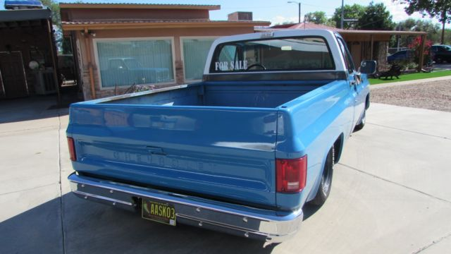 1979 Bagged Chevy C 10 Square Body For Sale Chevrolet C
