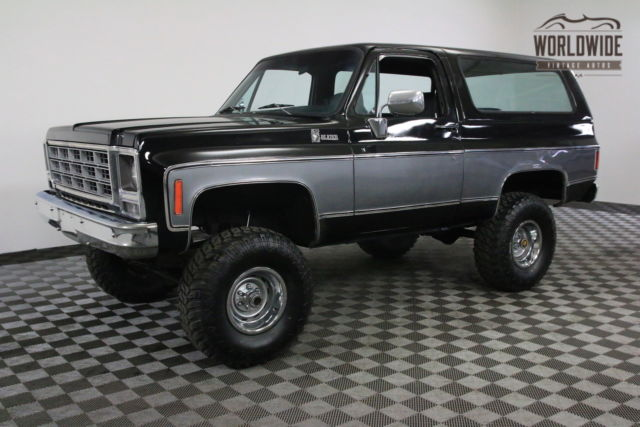 1979 Black K5 4x4 Convertible Restored For Sale