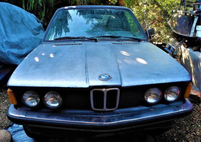 1979 Bmw 323 Baur Cabriolet Classic Collector Car 6 Cyl Auto