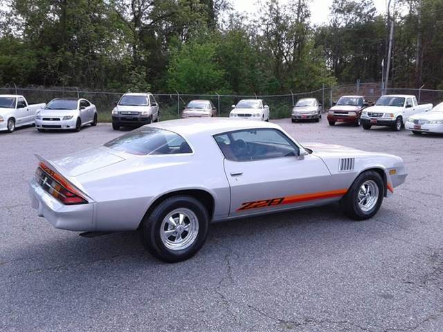 1979 Cheverolet Camaro Z28 For Sale Chevrolet Camaro