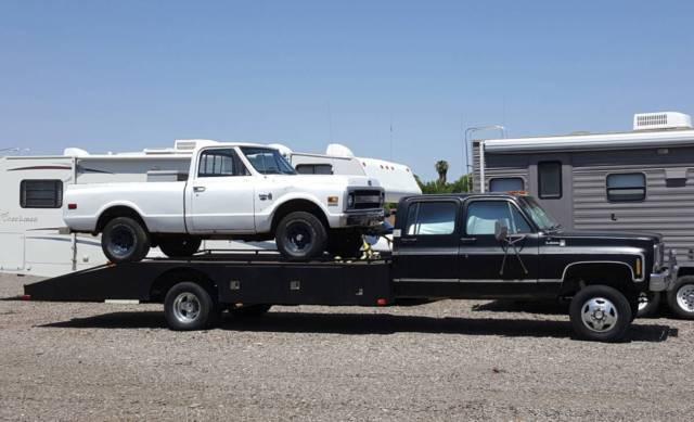 1979 chevy 1 ton 4x4 car hauler k30 crew cab for sale chevrolet other pickups crew cab 1979. Black Bedroom Furniture Sets. Home Design Ideas