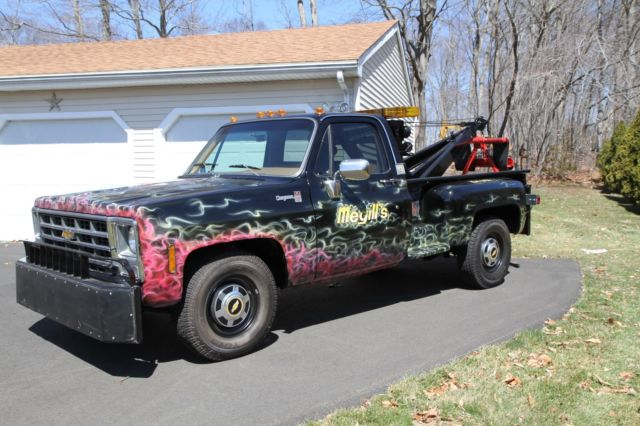 1979 chevy cheyenne 3500 tow truck for sale chevrolet c k pickup 3500 1979 for sale in new. Black Bedroom Furniture Sets. Home Design Ideas