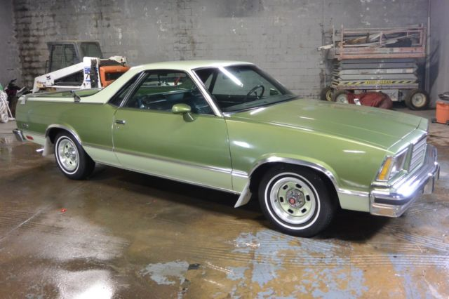 1979 chevy el camino clean driver nice car old school for Old american muscle cars for sale