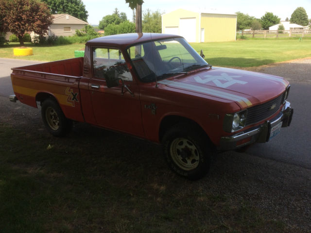 1979 chevy luv 4x4 pickup truck original paint under 94 000 original miles 1980 for sale. Black Bedroom Furniture Sets. Home Design Ideas