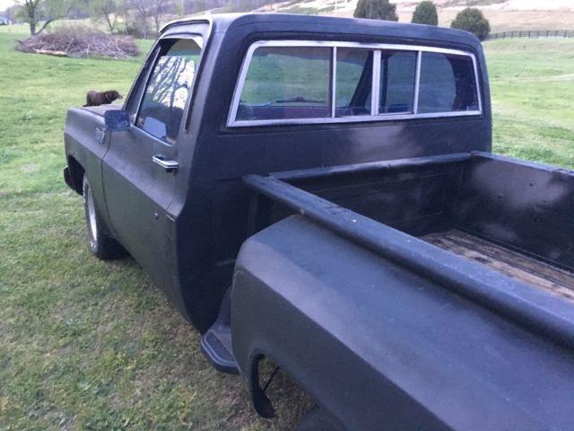 1979 chevy stepside shortbed truck for sale chevrolet c 10 stepside 1979 for sale in waverly. Black Bedroom Furniture Sets. Home Design Ideas