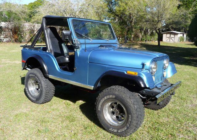 Jeep Bimini Top >> 1979 CJ5 Jeep with original AMC 304 V8 engine for sale ...