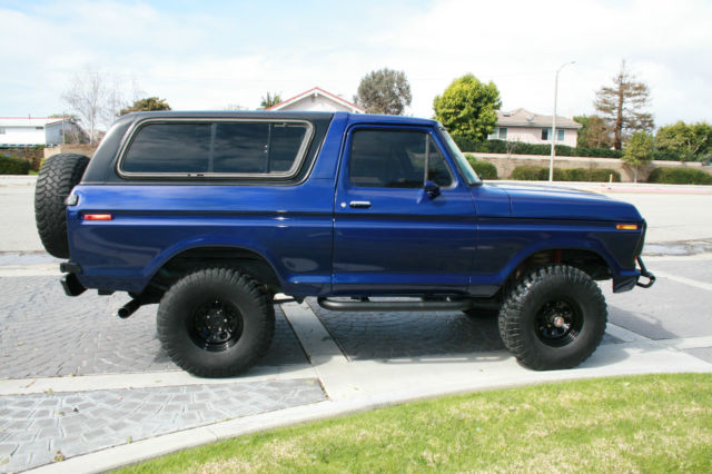 Ford Huntington Beach >> 1979 Ford Bronco 460 Big Block, Auto, 4x4, Lifted ...