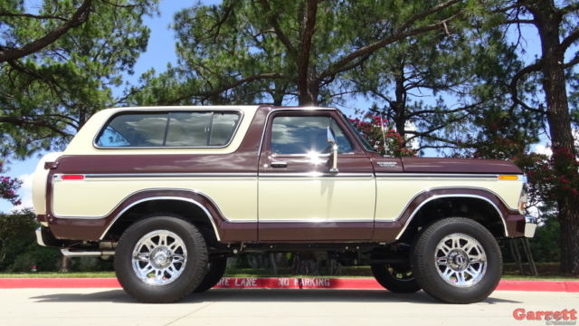 1979 Ford 1500 4 Wheel Drive Tractor : Ford bronco custom classic suv cleveland v