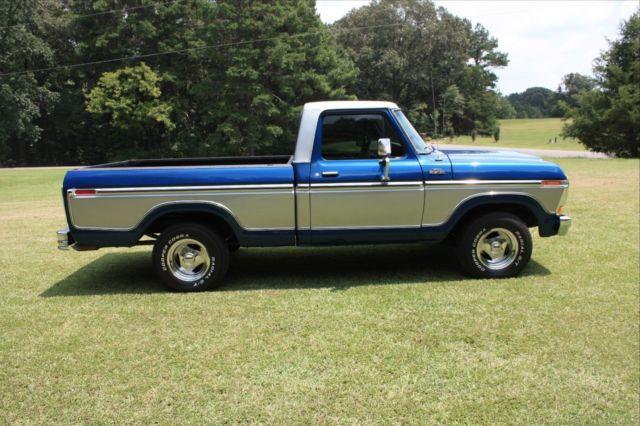 1979 ford f100 custom truck 302 5 0 sbf not f150 f250 f350 ranger lariat xlt for sale ford f. Black Bedroom Furniture Sets. Home Design Ideas