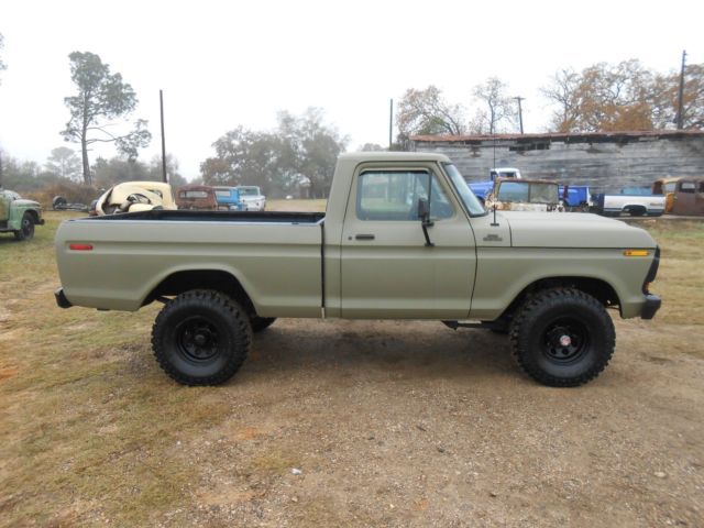 1979 ford f150 4x4 shortbed 4 speed for sale ford f 150 1979 for sale in rockdale texas. Black Bedroom Furniture Sets. Home Design Ideas