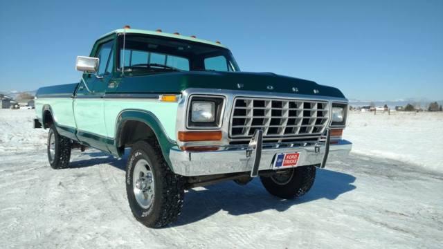 1979 Ford F150 F-150 4x4 Western High Desert Survivor Barn Find Custom Ranger For Sale