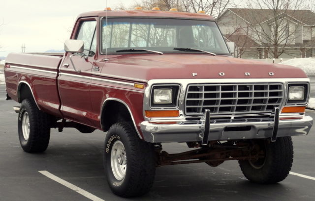 1979 ford f150 ranger 4x4 all original 64k original miles for sale ford f 150 f150 ranger. Black Bedroom Furniture Sets. Home Design Ideas