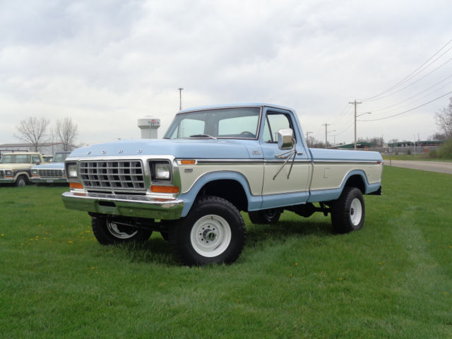 1979 FORD F250 RANGER 4X4 400M AUTO TRANS VERY CLEAN AND ...