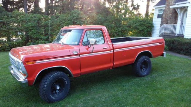 1979 ford f350 4x4 one ton pickup truck f 350 4 wheel drive lariat for sale ford f 350 1979. Black Bedroom Furniture Sets. Home Design Ideas