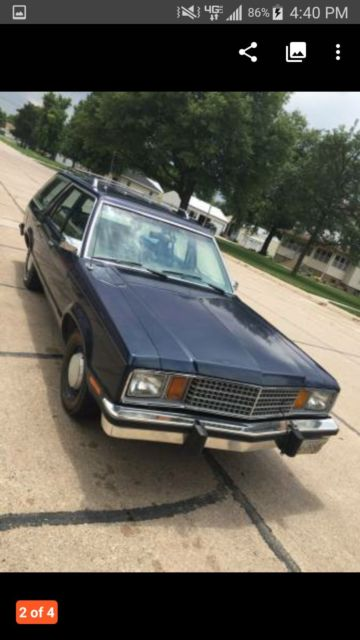 Blue Ridge Tire >> 1979 Ford Fairmont wagon 302 a/c for sale - Ford Fairmont ...