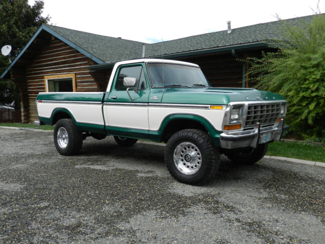 1979 ford ranger lariat f 250 4x4 with 2 tone paint rare collector classic for sale ford f 250. Black Bedroom Furniture Sets. Home Design Ideas