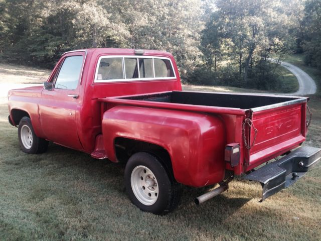 1979 gmc stepside swb 1 2 ton for sale gmc sierra 1500. Black Bedroom Furniture Sets. Home Design Ideas